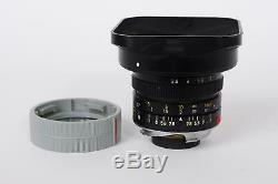 Leica Leitz Elmarit-M 21mm 12.8 (Leica M mount) + 12537
