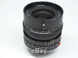 Leica Leitz Elmarit-M 28mm f/2.8 f2.8 M Mount Lens Canada