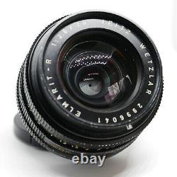 Leica Leitz Elmarit-R 28mm f2.8 3-Cam 11204 R Mount Lens AS IS (Read)