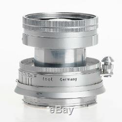 Leica Leitz M 5cm F2 Summicron Collapsible M Mount 50mm Chrome Lens SOOIC-M Fog