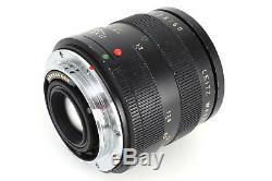 Leica Leitz Macro-Elmarit-R 60mm F2.8 E55 3-Cam R Mount Lens