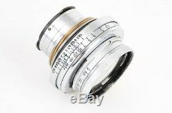 Leica Leitz Summar 5cm 50mm f2 LTM L39 Screw Mount Lens #217196