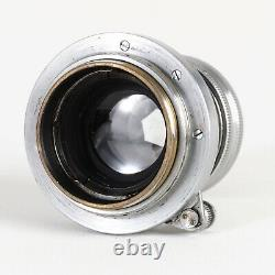 Leica Leitz Summar 5cm 50mm f2 LTM L39 Screw Mount Lens #9366