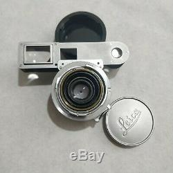 Leica Leitz Summaron 35mm F/2.8 M Mount With Goggles For Leica M3 Serviced