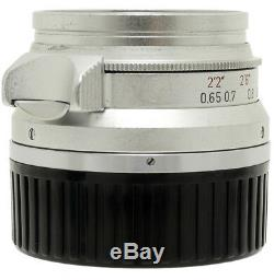 Leica Leitz Summicron 35mm F2 Canada 8 Element Lens For Leica M Mount