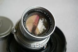 Leica Leitz Summicron 50mm/f2 M mount collapsible rangefinder lens