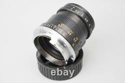 Leica Leitz Summicron 50mm f/2 F2 Lens, Ver. III Germany, Yr 1969, M Mount