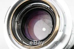 Leica Leitz Summicron 5cm 50mm f2 Collapsible M Mount Lens EX+++