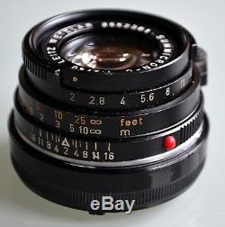 Leica Leitz Summicron C 12/40mm M Mount in mint condition Nr. 2552301 1972