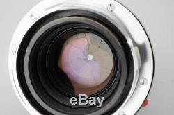 Leica Leitz Summicron-M 50mm f/2 Lens (11819) 4th Ver Canada, M Mount VM ZM