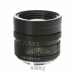 Leica Leitz Summicron-R 90mm F2 Manual Focus Telephoto Prime R Mount Lens