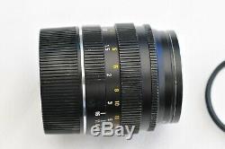 Leica Leitz Summilux M Mount 50mm f1.4 Black E43
