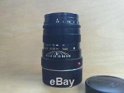 Leica Leitz Tele-Elmarit-M 90mm F2.8 Lens M Mount Made in Canada Super Clean