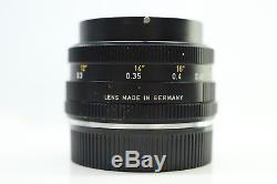 Leica Leitz Wetzlar 35mm F2.8 Elmarit-R Leica R Mount -BB