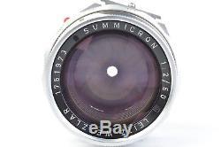 Leica Leitz Wetzlar Dual Range Summicron 50mm f/2 with Eyes for M-Mount #P1973