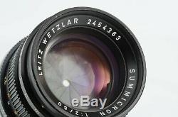 Leica Leitz Wetzlar Summicron 50mm F/2 Lens for Leica M Mount (333-Q61)