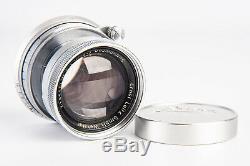 Leica Leitz Wetzlar Summicron 5cm 50mm f/2 Lens for M Mount with Cap V17