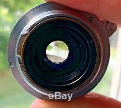 Leica Leitz screw-mount L39 Summaron 35mm f3.5 22 lens with accessories