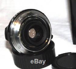 Leica M-mount VOIGTLÄNDER COLOR SKOPAR 2,5/35mm PANCAKE für LEICA M sehr gut