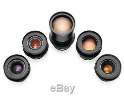 Leica R Duclos 5-Lens CineSet 24/35/50/90/180 1980s Summicron-R EOS/EF Mount