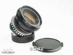 Leica R Mount Schneider 35mm f/4 PA Curtagon Prime Perspective Control Lens