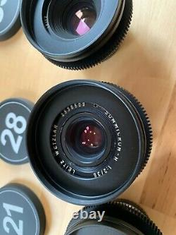 Leica R set, cinemood with leitax EF mount