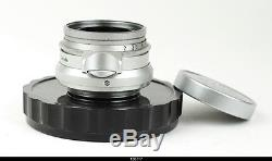 Leica SM Summicron 2/35 mm 8 Element Canada LTM Mount Lens