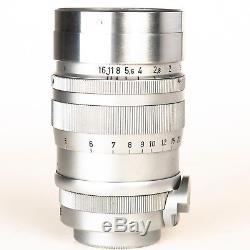 Leica SUMMAREX 8.5cm 85mm f/1.5 Lens for L39 Screw mount & case, LTM Germany