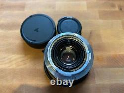 Leica SUMMICRON 35mm f2 3rd 11309 Leica M Mount Overhauled in 2020