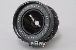 Leica SUPER-ANGULON 21mm f/3.4 M mount Manual Focus Lens