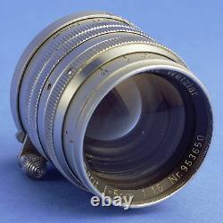 Leica Summarit 50mm 1.5 Screw Mount Lens