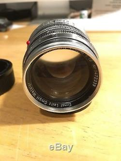 Leica Summarit 50mm F1.5 5cm M Mount