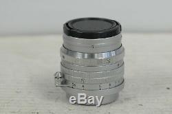 Leica Summarit 50mm F1.5 Screw Mount Lens with Cap
