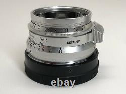 Leica Summaron 35mm F/2.8 LTM/M Dual Mount Rare 1 Meter Focus Germany
