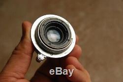 Leica Summaron 35mm F/3.5 F3.5 M39 Screw Mount Lens with M Mount Adapter