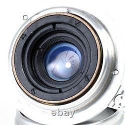 Leica Summaron 3.5cm 35mm f3.5 LTM M39 Screw Mount Lens #0117 MINT
