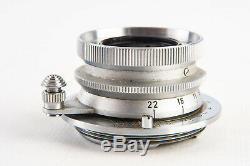 Leica Summaron 3.5cm 35mm f/3.5 Wide Angle Lens for M39 Screw Mount