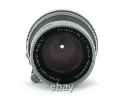 Leica Summicron 2/50mm #1352124 Collapsible Lens LTM M39 Mount
