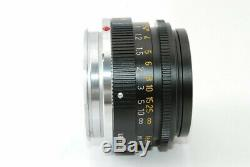 Leica Summicron 35mm F2 Canada ver 2 Lens For Leica M Mount Very Good! 19107081