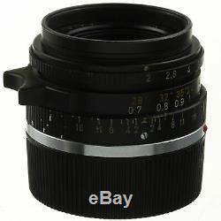 Leica Summicron 35mm F2 Lens M Mount 02/2019 CLA