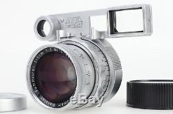 Leica Summicron 50mm 5cm F2 Dual Range DR M Mount Lens w Goggles MINT