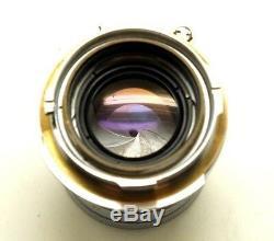 Leica Summicron 50mm F2 5cm M Mount Lens