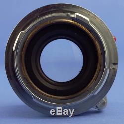 Leica Summicron 50mm F2 Rigid Lens M Mount