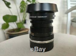 Leica Summicron 50mm F/2.0 Lens M-mount V3 (11817)