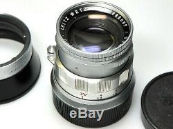 Leica Summicron 50mm F/2 RIGID f. Leica M Mount
