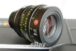 Leica Summicron-C PL MOUNT LENS SET 18mm 25mm 35mm 50mm 75mm 100mm A++