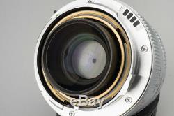 Leica Summicron-M 35mm f/2 F2 ASPH. E39 Lens (11882), Silver, For M Mount Camera