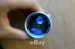 Leica Summicron-M 50mm f2 f/2 Rigid Lens for Leica M mount Mint
