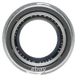 Leica Summilux 1.4/50mm rare fast vintage M mount chrome XOOIM Uva lens kit