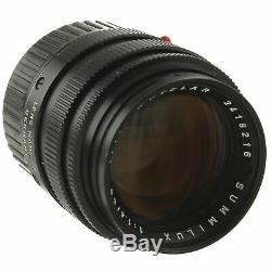 Leica Summilux 50mm 1.4 II Lens M Mount 03/2019 CLA